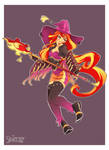 Black Mage Sunset Shimmer