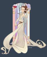 Art Nouveau Rey by Skirtzzz