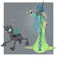 Trainer Chrysalis by Skirtzzz