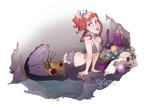 Mae the Macabre Mermaid