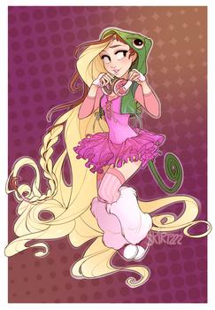Raver Rapunzel