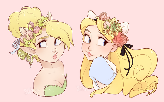 Spring Time Neko Tink and Alice