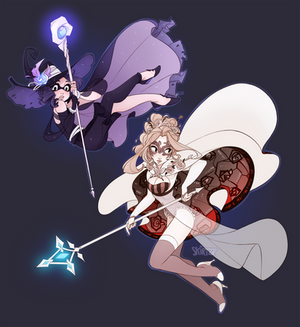 Witches at Work