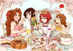 A Pastry Party for the Princess