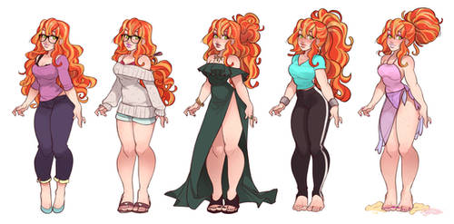 Aria Outfits!