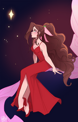 Aerith in Red