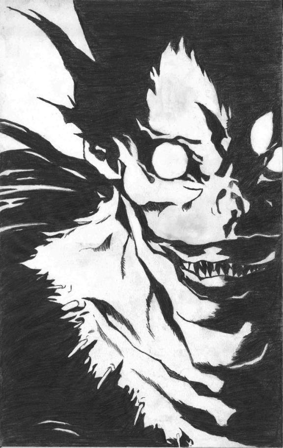 Death Note Ryuk By Xxneversoftxx On Deviantart