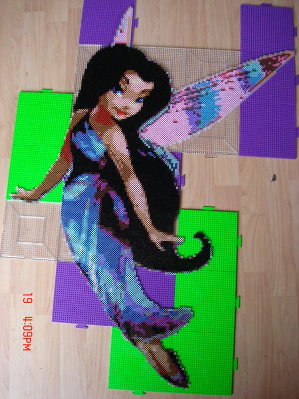 disney fairies perler hama by Silvermist5