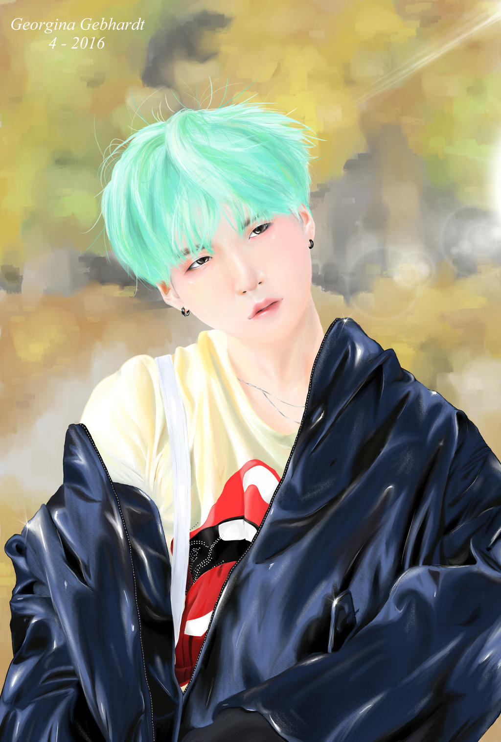 Suga Green By GeoxArt