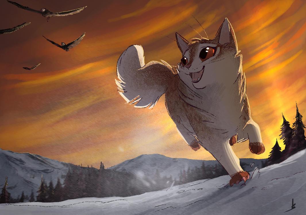 Run free! by OwlCoat