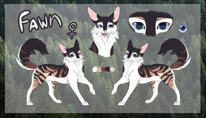 Fawn - Ref Sheet commission