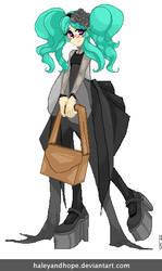 Standing Kuro Lolita