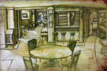 Beth's Tavern by GeneralVyse