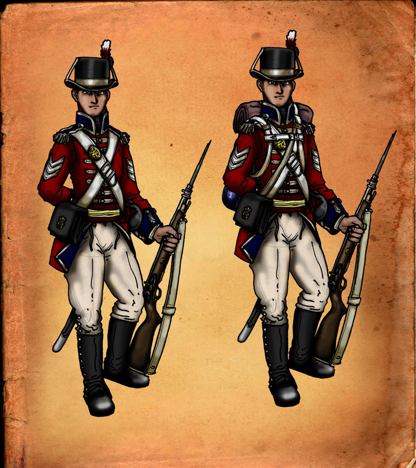 Sergeant Palmer Royal Marines by GeneralVyse