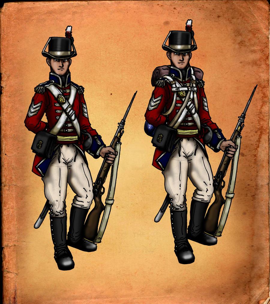 Sergeant Palmer Royal Marines by GeneralVyse