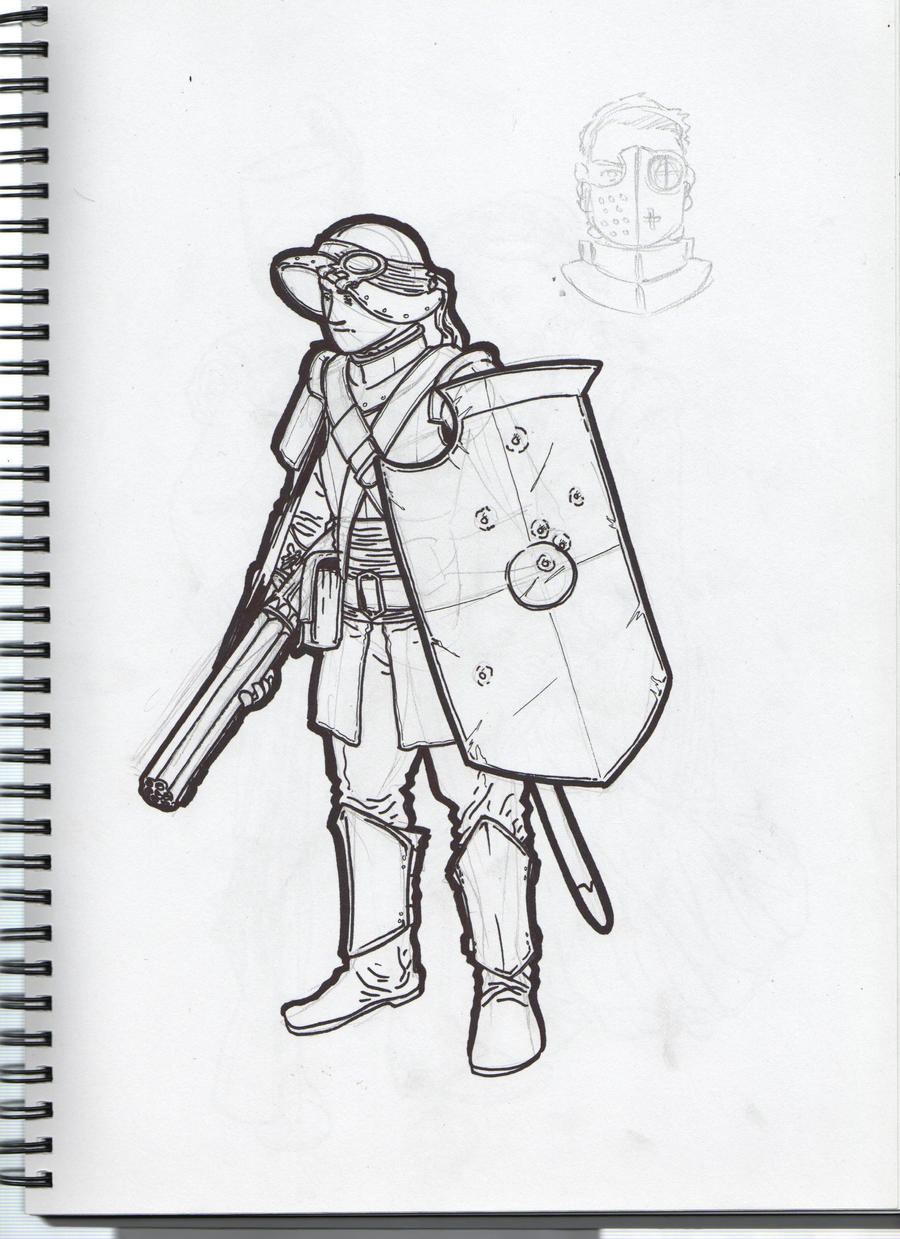 Condetterri Musketeer by GeneralVyse