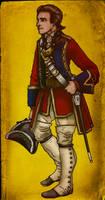 Major Heyward 60th Rifles by GeneralVyse
