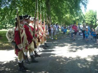 22nd Regiment 3rd of July.