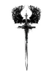 Winged sword by GeneralVyse