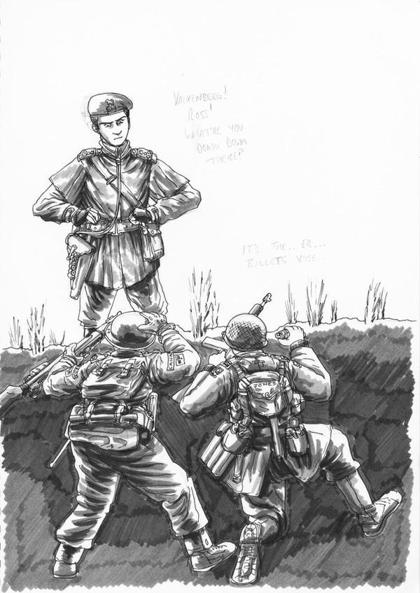 Brigadier vyse, Captain Jones, by GeneralVyse