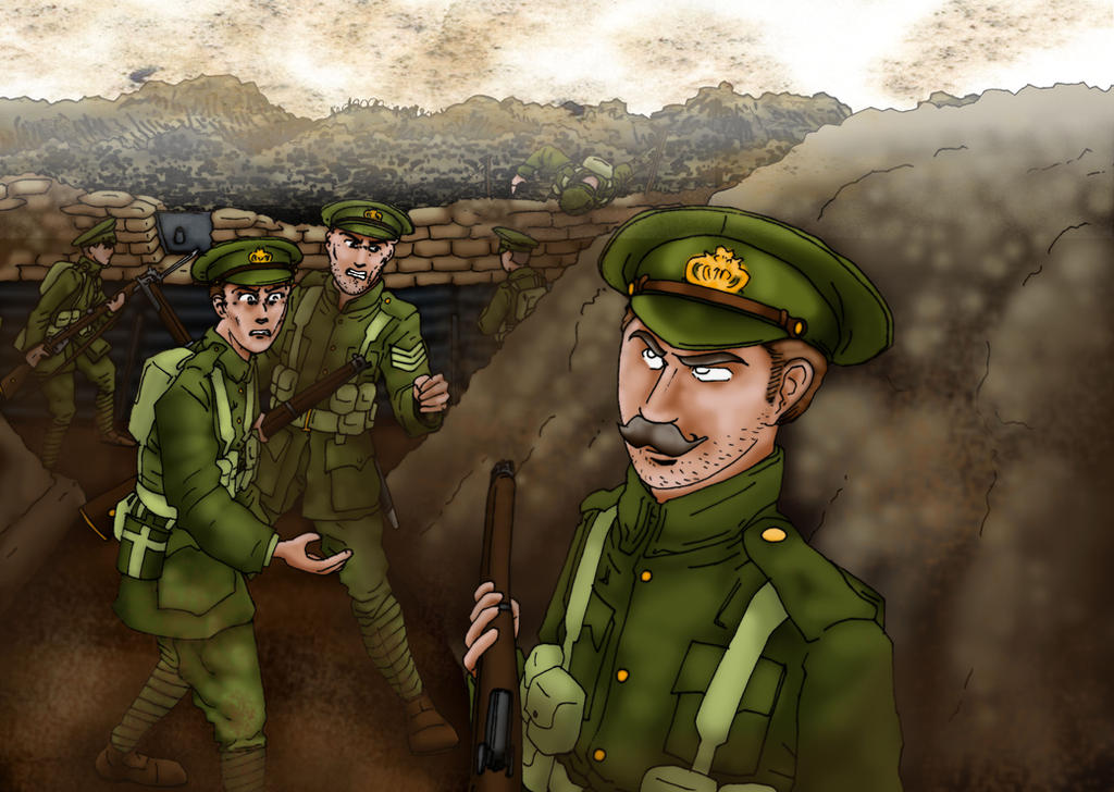 old WWI drawing by GeneralVyse