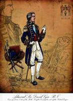 Admiral Sir David Vyse RN by GeneralVyse
