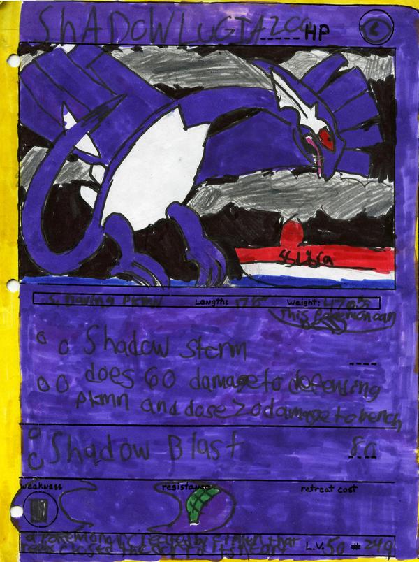 Pokemon Cards Shadow Lugia images