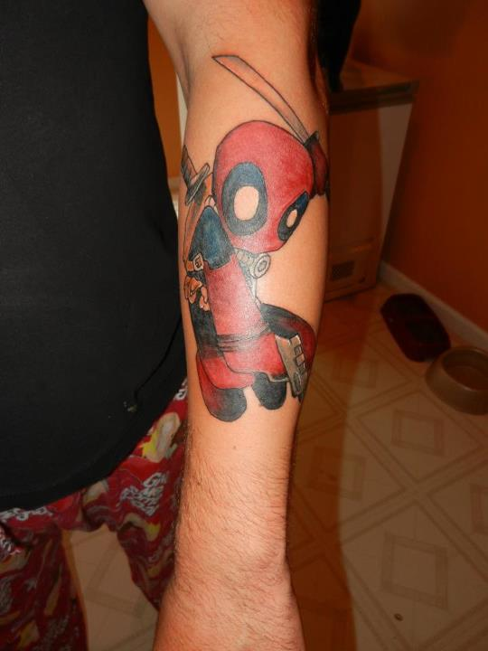 Deadpool tattoo by rizzi323 on deviantart for That s my boy tattoo