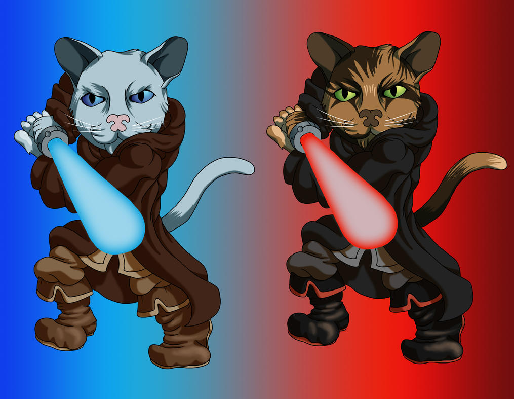 Star Wars Kittens by IanABlakeman