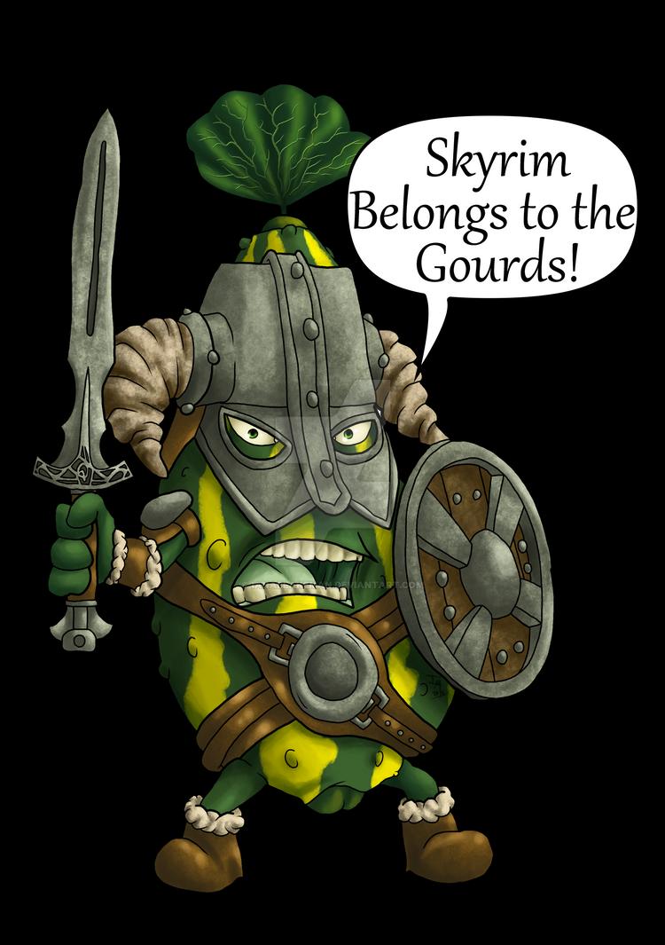 The Gourds of Skyrim by IanABlakeman
