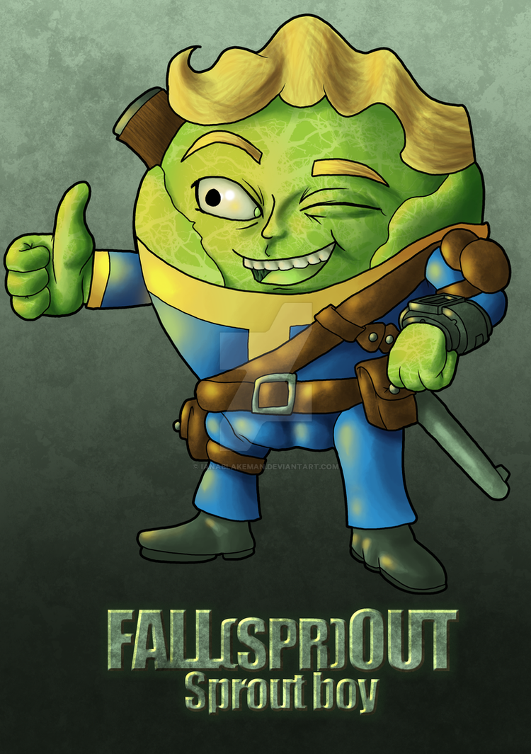 Fall(spr)out, Sprout Boy by IanABlakeman