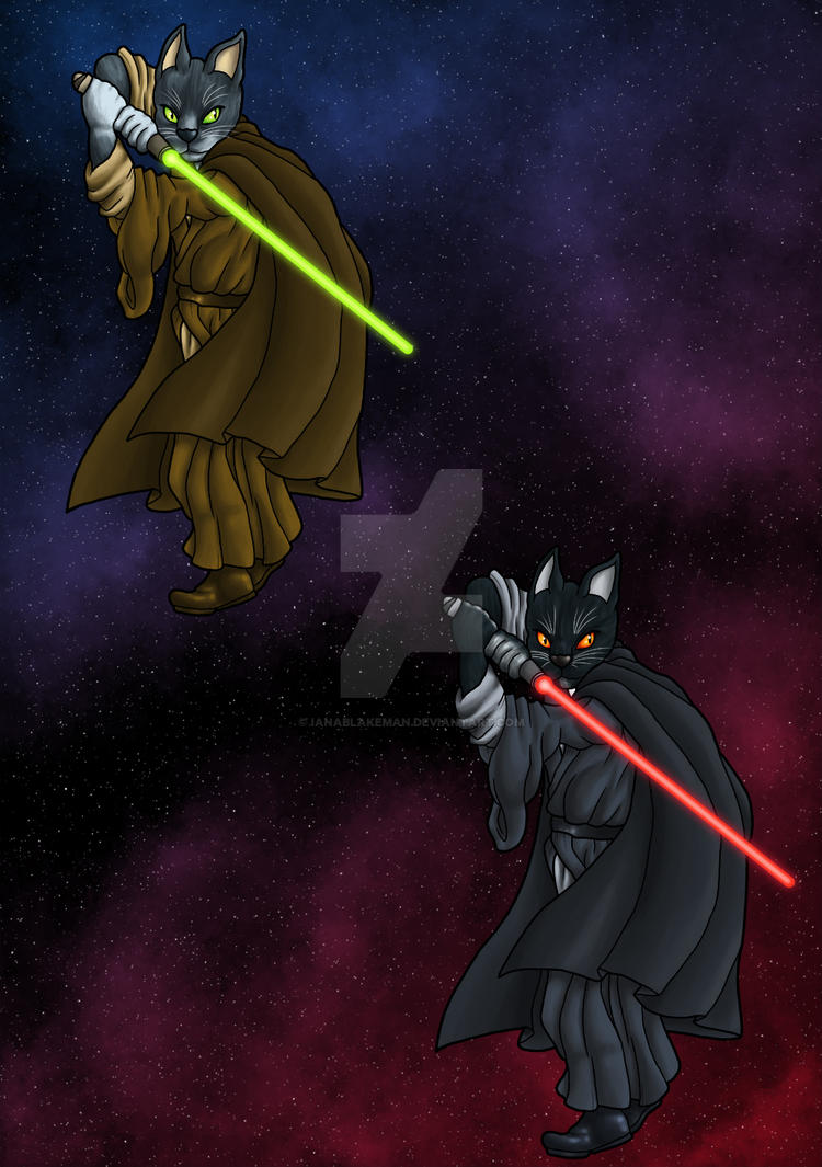 Cat Wars by IanABlakeman