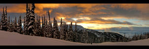 Sunset over Whistler