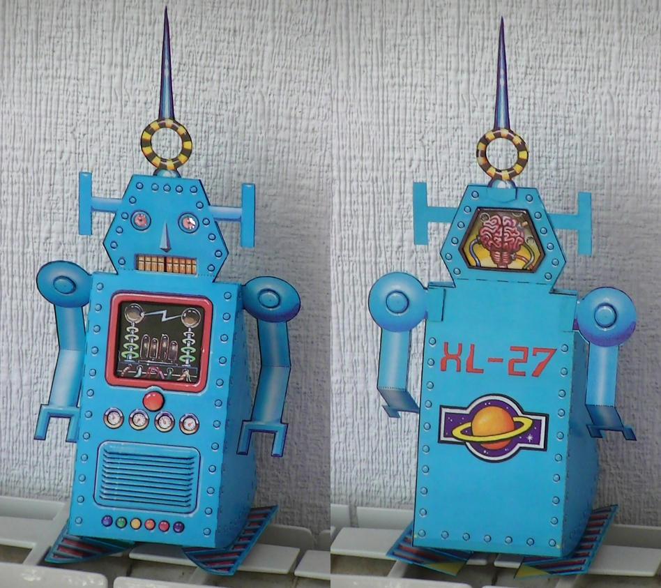 Robot andante (automata) by pesadillaaa3