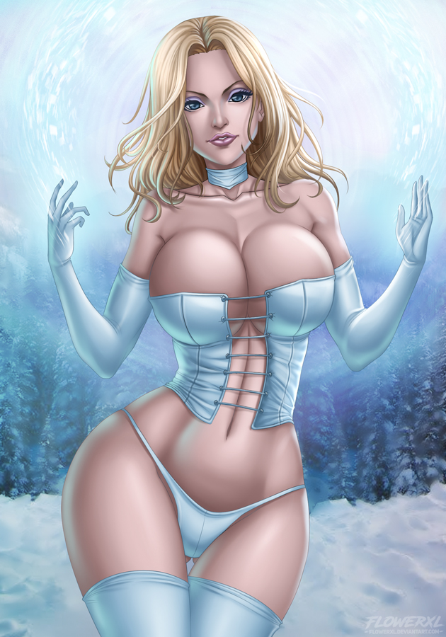 MILF with erotic emma frost mamasita