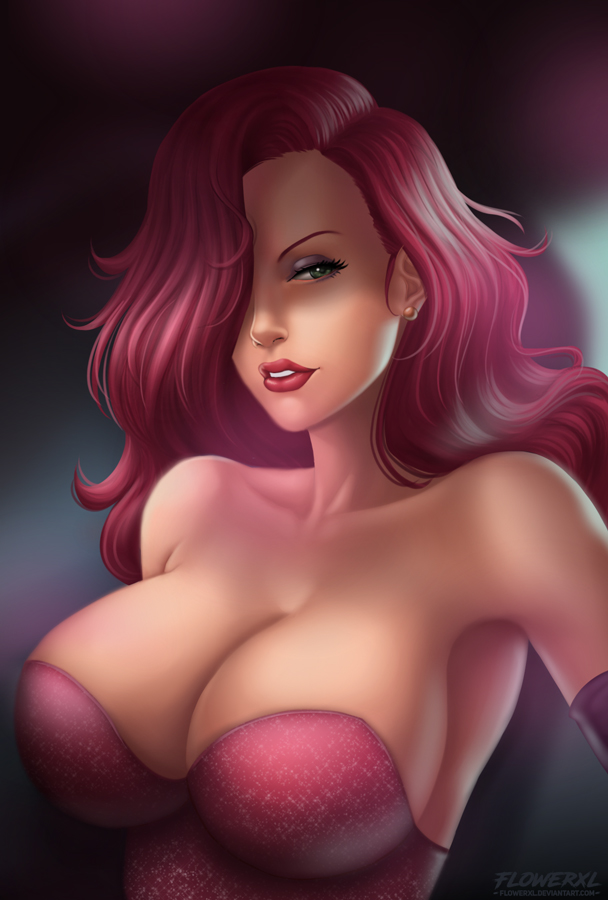 Jessica Rabbit by Flowerxl