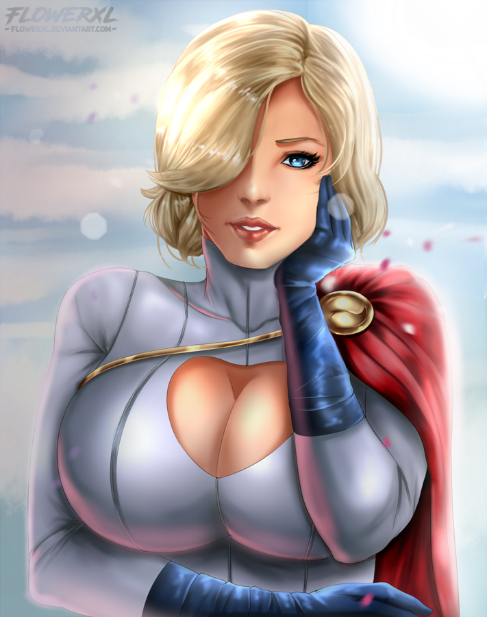 Power Girl by Flowerxl