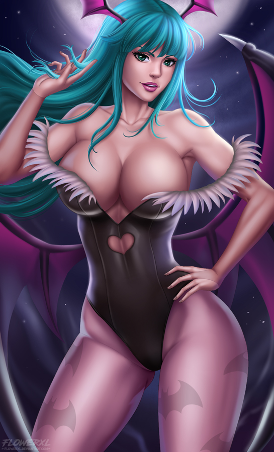 Morrigan by Flowerxl