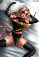Miss Marvel by Flowerxl