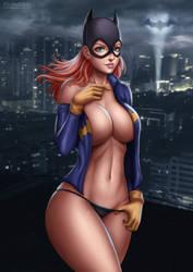Batgirl by Flowerxl