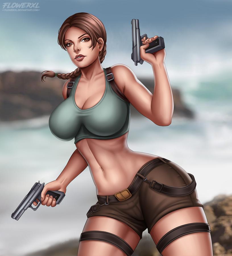 Lara Croft by Flowerxl on DeviantArt