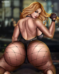 Black Canary by Flowerxl