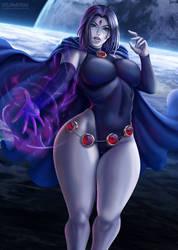 Raven by Flowerxl