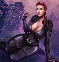 Black Widow by Flowerxl
