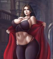 Scarlet Witch Wanda Maximoff by Flowerxl