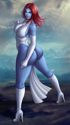 Mystique by Flowerxl