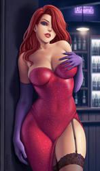 Jessica Rabbit by Flowerxl