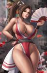 Mai Shiranui by Flowerxl