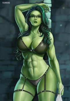 She-Hulk - lingerie