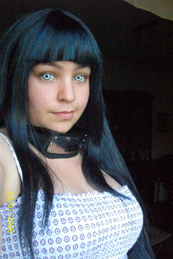 Hinata cosplay contact lenses